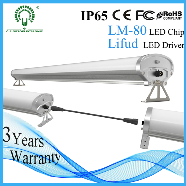 Ceiling Surface Mounted LED Batten Tubes Lights, LED Tri-Proof Light