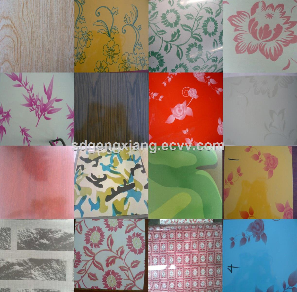 flower printed gi based china ppgi manufacturer