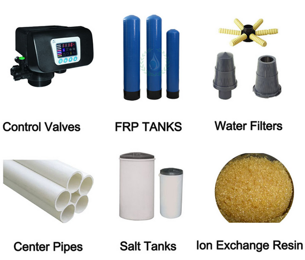 Good Quality FRP Water Tank for Water Softener Accessaries