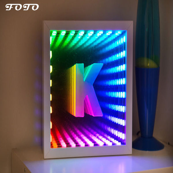 LED Lighted Infinity Mirror