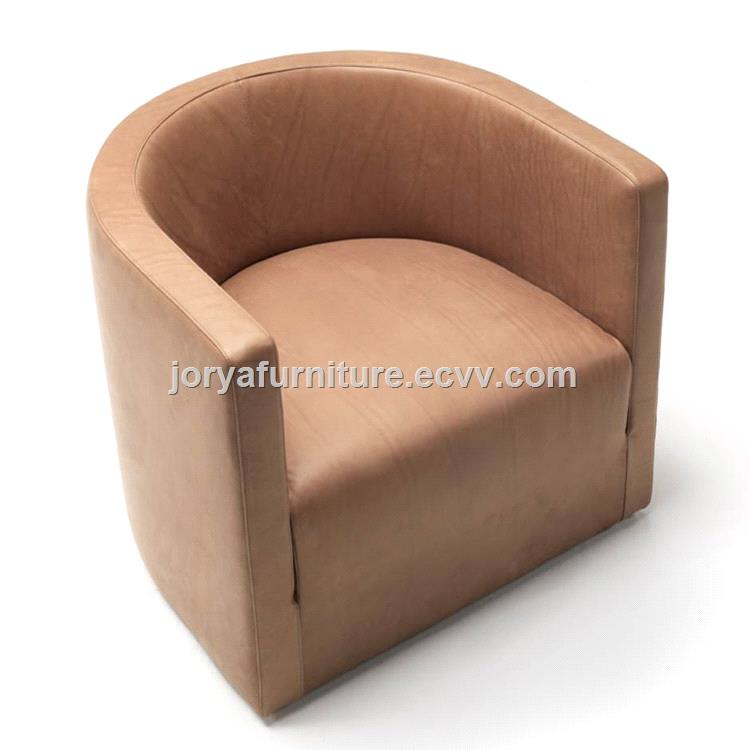 Single Seat Sofa Leisure Chair Office Genuine Leather