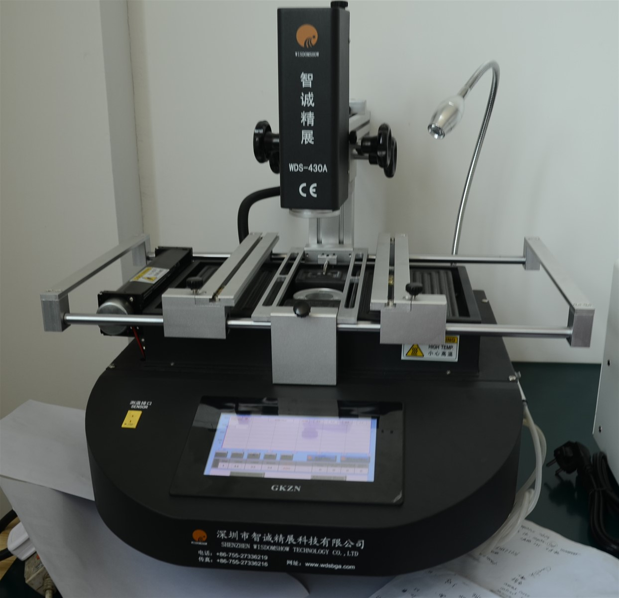 Laptop Bga Chips Soldering Station Wds 430 Infrared Solder And Tool Kit 12 Different Tools Circuit Board Repair Desolder