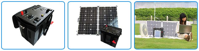 good quality 3000W portable solar generator for home and comercial