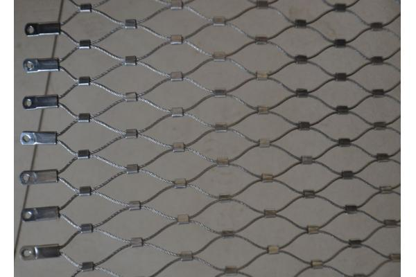 Flexible XTend Wire Rope Mesh Fence For Zoo Park