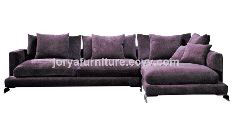 Modern living room sofas real leather sofa L shaped sofa ...