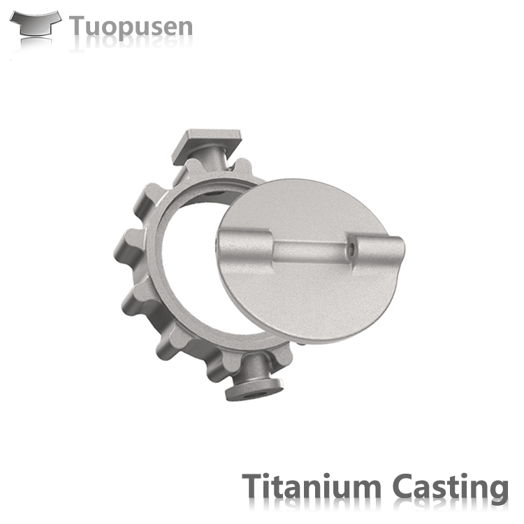 Titanium Casting Parts Valve Grade C2/3/5 with HIP
