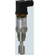 Vibrating point level switch, for high, low, or demand level detection of bulk solids.