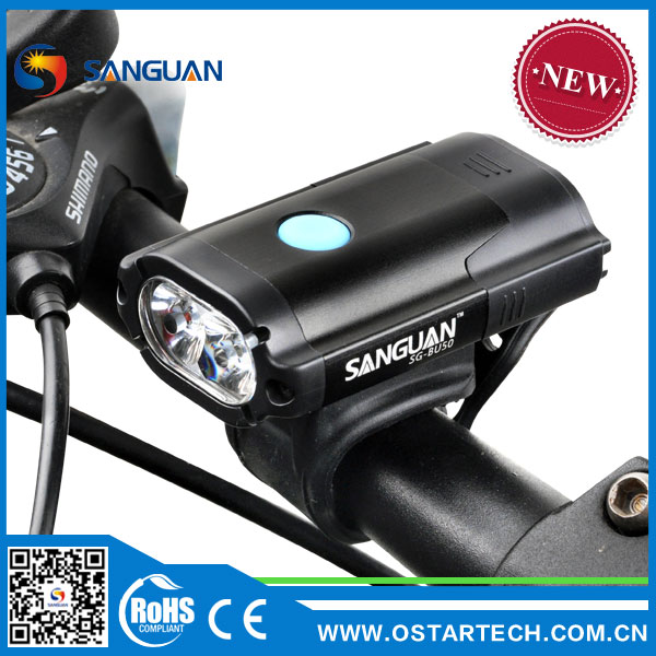 Waterproof Bike LED Light Rechargeable Outdoor Powerful Sport Light
