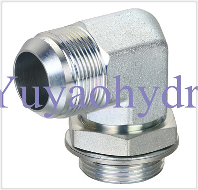 Hydraulic Fittings with Jic 37 Deg Flared Tube Connector (Saej514)
