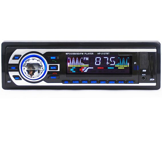 Multifunction TDA7388 Strong Power Bluetooth Vehicle mp3 usb FM Player 2127BT