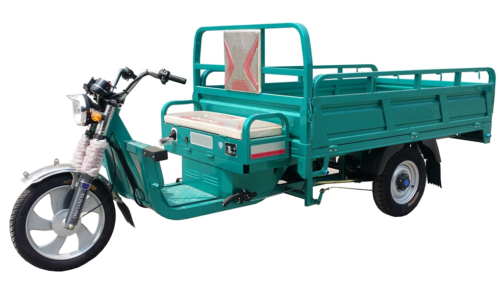 60 Voltage Motorized Three Wheel Electric Cargo Truck Tricycle