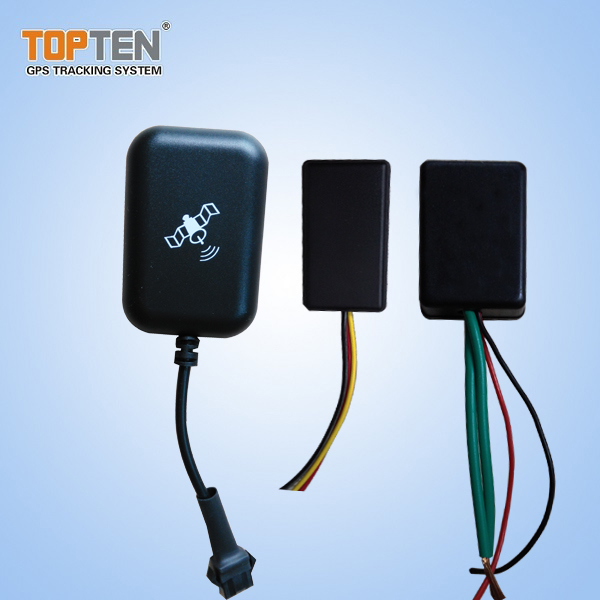 Mini Waterproof GPS Tracker/Motorcycle Alarm with Free Android/iOS APP
