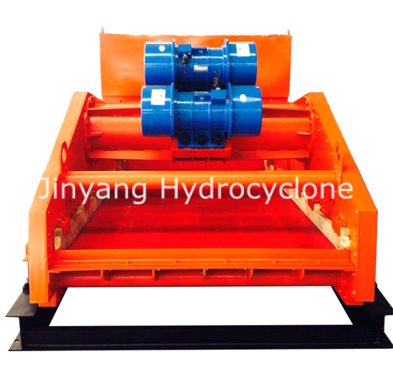 dry tailings linear vibrating dewatering screen