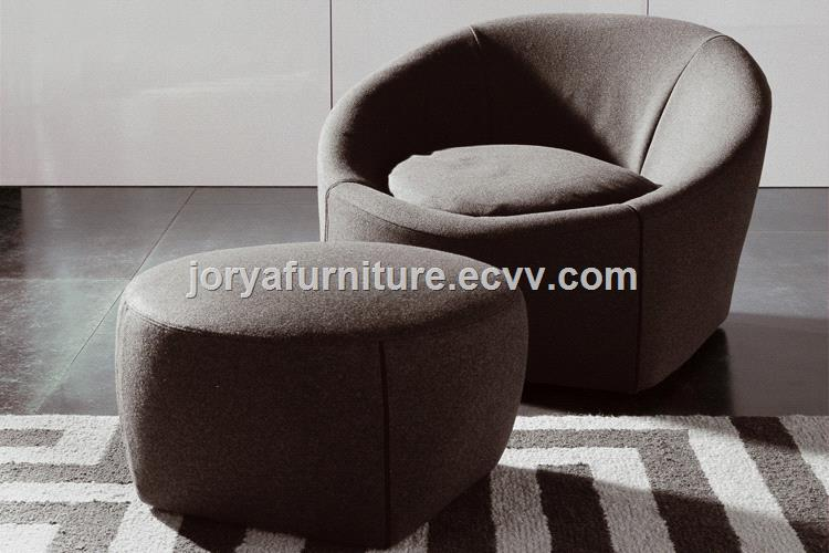 Single Seat Sofa Fabric Leisure Chair Personal Leather Office