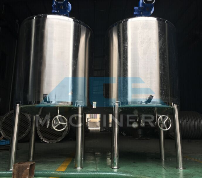 Stainless Steel Detergent Liquid Mixing Tank