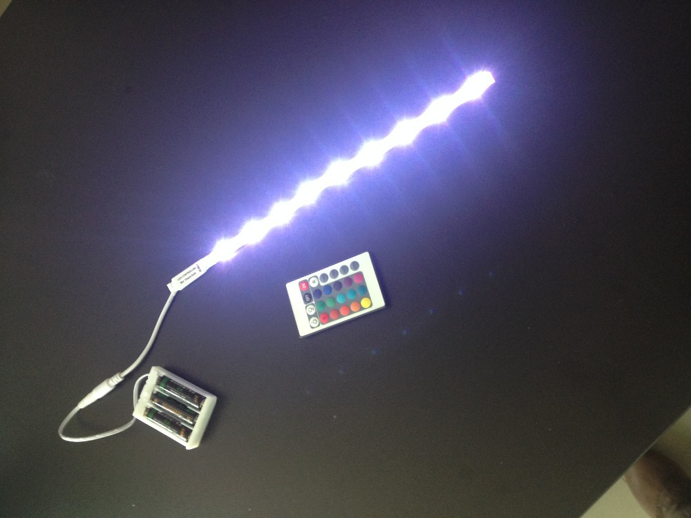 Wiring Diagram For Led Light Strip : Rgb battery led strip light smd purchasing souring agent