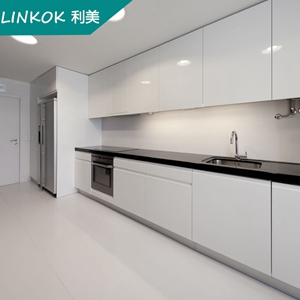 18mm Playwood waterproof white lacquer kitchen cabinets from ...