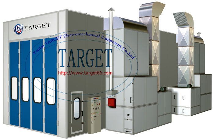 CE Standard Industrial Spray BoothLarge Spray Booth for Sale TG1550