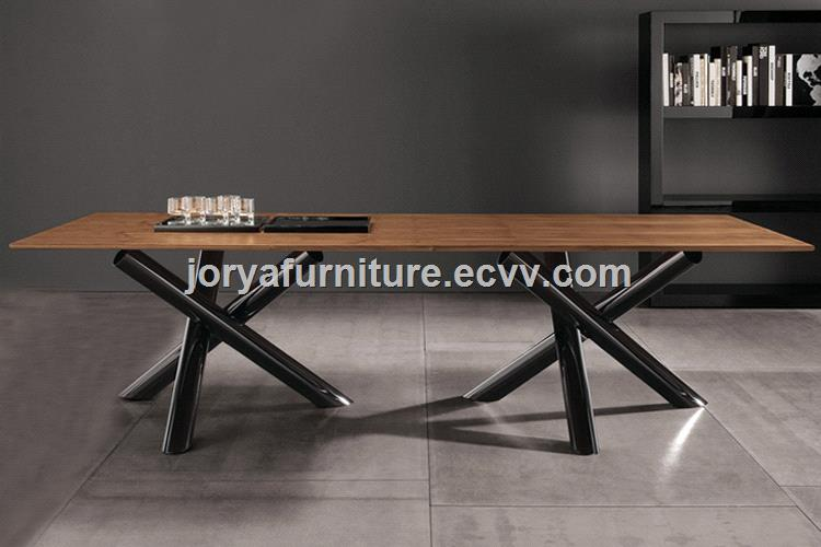 Modern Rectangle Dining Table Marble/Tempered Glass/Wooden Top Table