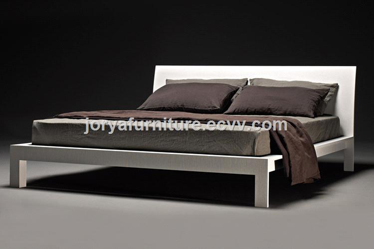 Modern Bedroom Furniture Double Bed Ash Solid Wood Bed Wooden Bed