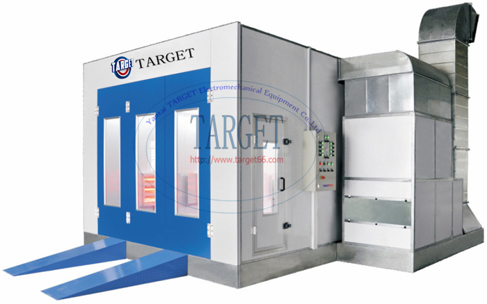 Electrice infrared lamp car spray booth TG80A