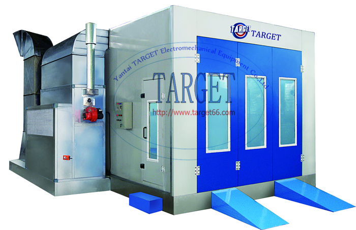 Cheap car paint room auto spray painting booth oven TG70A
