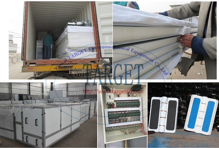 Truck spray booth Oil heating painting booth TG1550