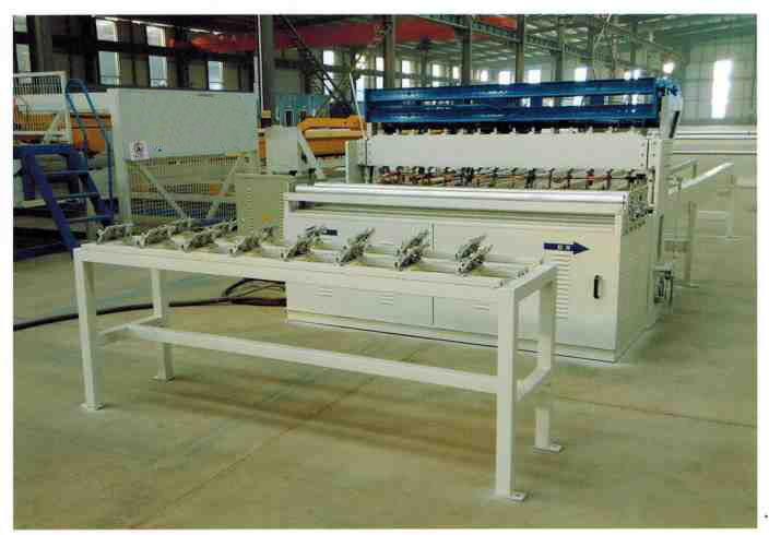 Semi-Automatic Diamond Mesh Machine