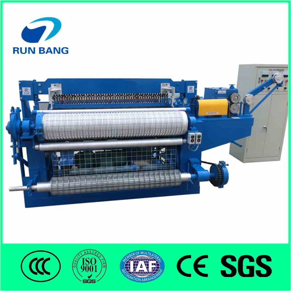Light full automatic welded wire mesh machine( in roll)