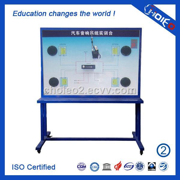 Automobile Audio System Training Board,motor component analog  trainer,vocation training equipment