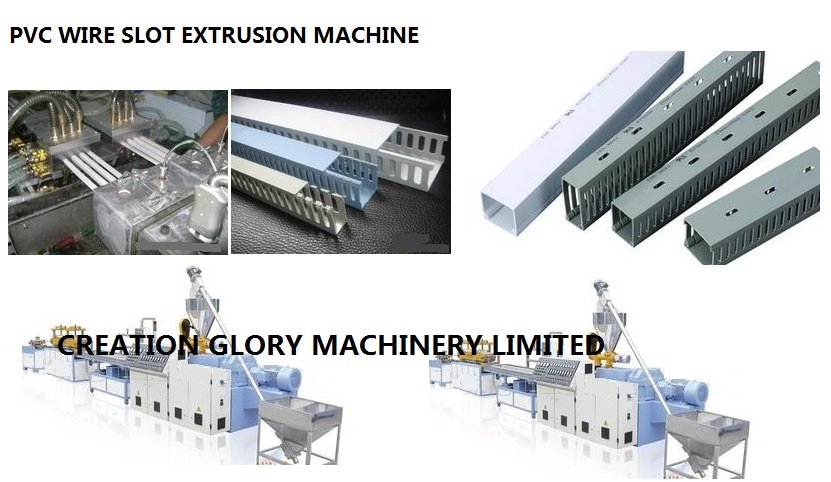 High Quality PVC Wire Slot Producing Machine