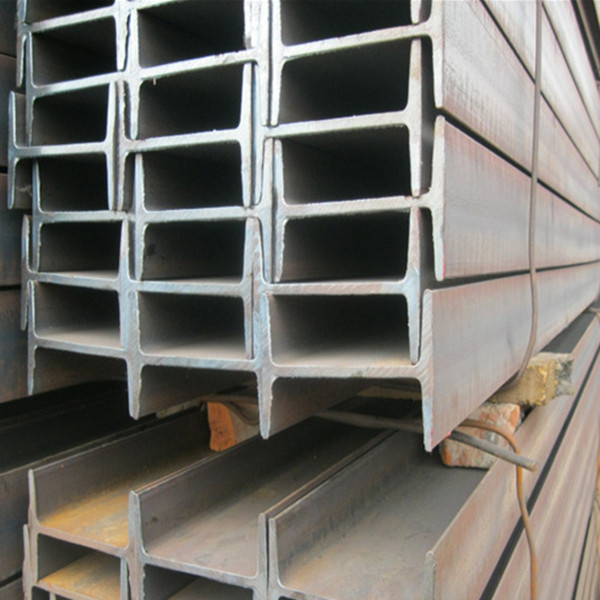 Building Galvanized Steel H Beams , Cutting Drilling Processing Black H  Channel Steel
