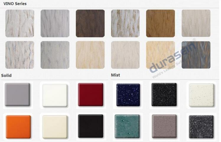 100 Pure Acrylic Solid Surface Sheets Lg Hi Macs Samsung Staron Corian Color