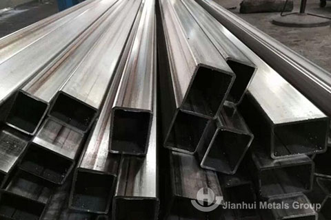 top quality 202 stainless steel welded tube for decoration