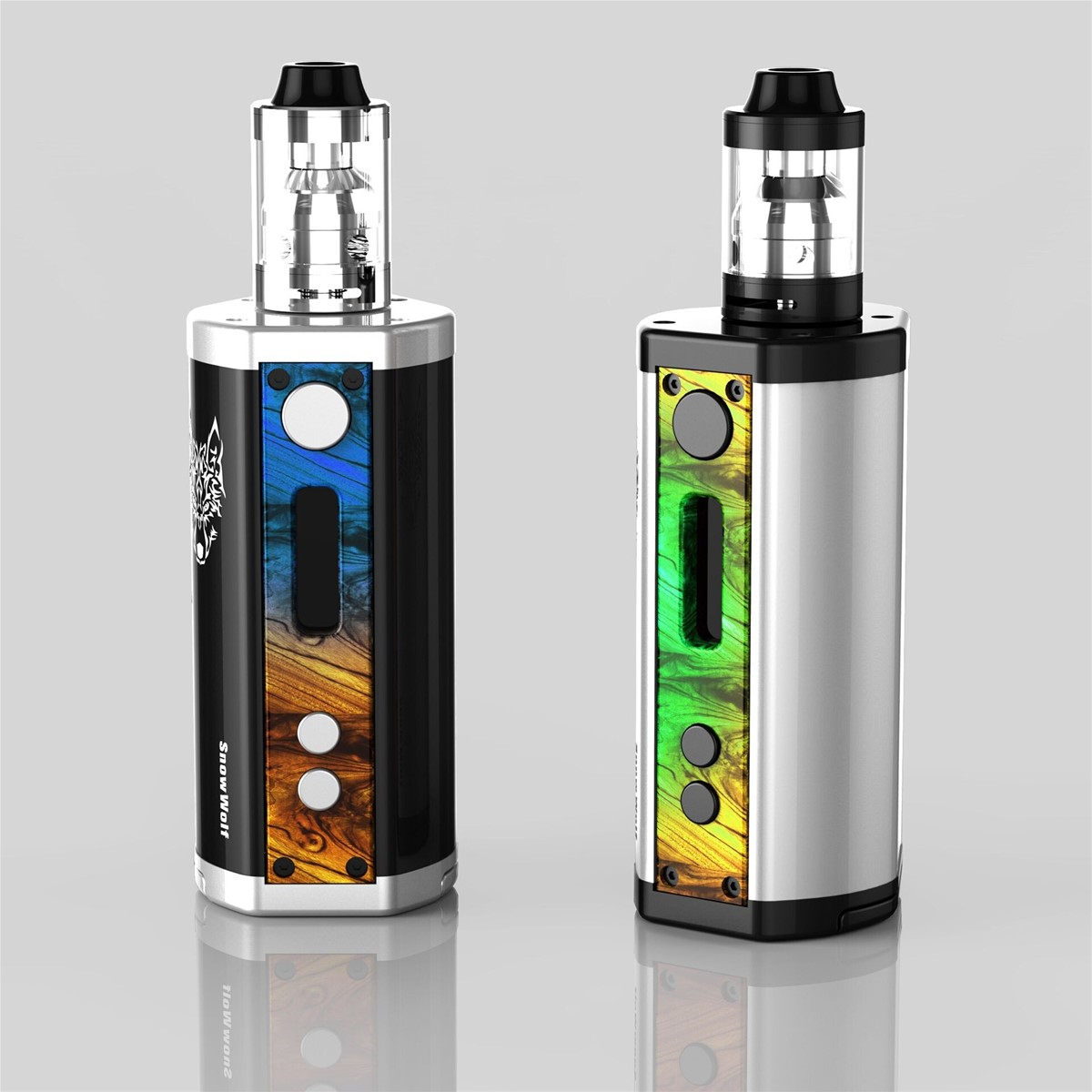 supplier Snowwolf 218w BY SIGELEI Snowwolf 218 TC box mod Snowwolf 218 3*18650 battery !!