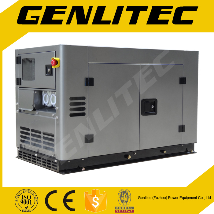 Water-Cooled, V-Twin Cylinder, 10kVA Kipor Type Diesel Electric Generator