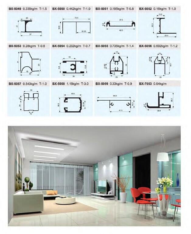 Extruded aluminum profiles prices,aluminium sliding door profile,aluminum  sliding window parts