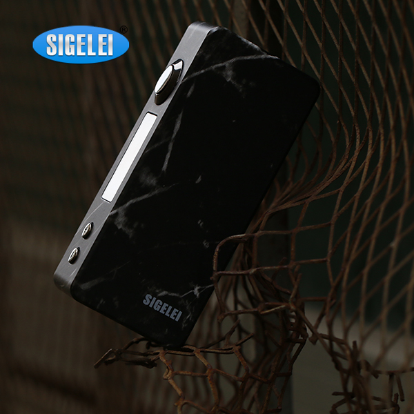 Manufacturer Sigelei Classic 90W Mods e-cigarette DIY 3D pictures for you Marble color