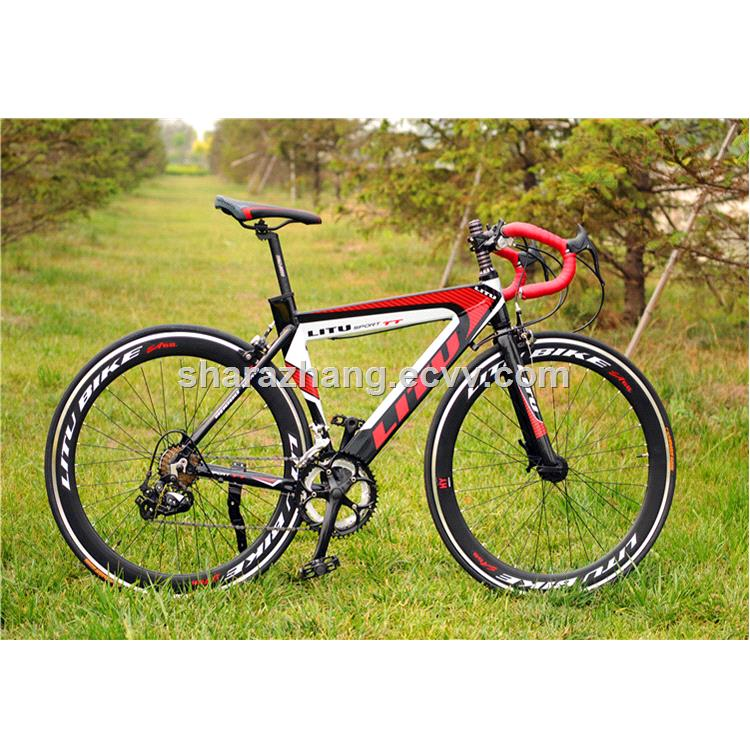 Higher Quality Racing Bicycle Aluminum Alloy Road Bike With 7 Speed