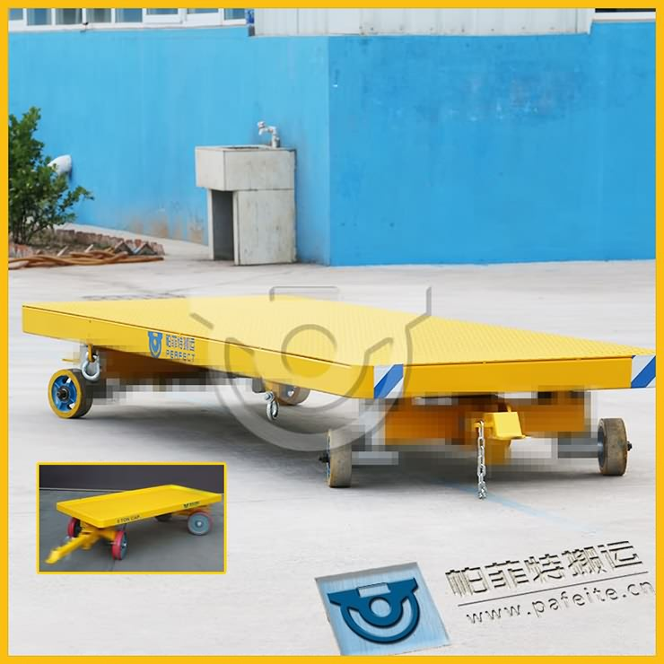 Towed trolley used for assembly line in China