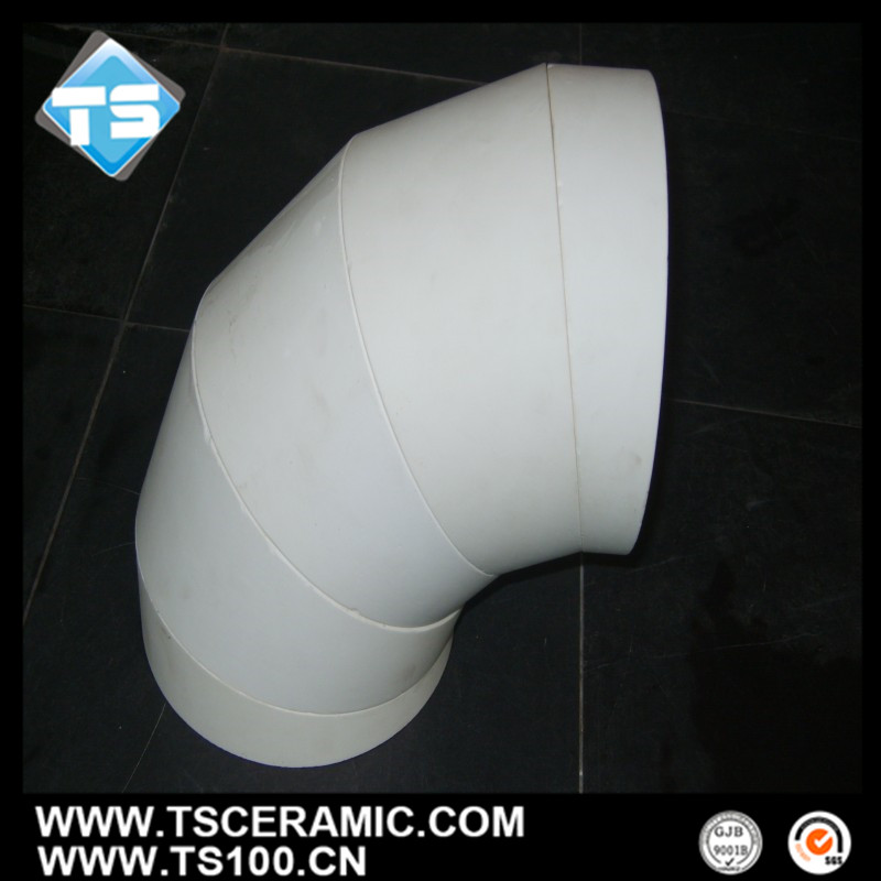 92% Alumina Bends for pulverized coal