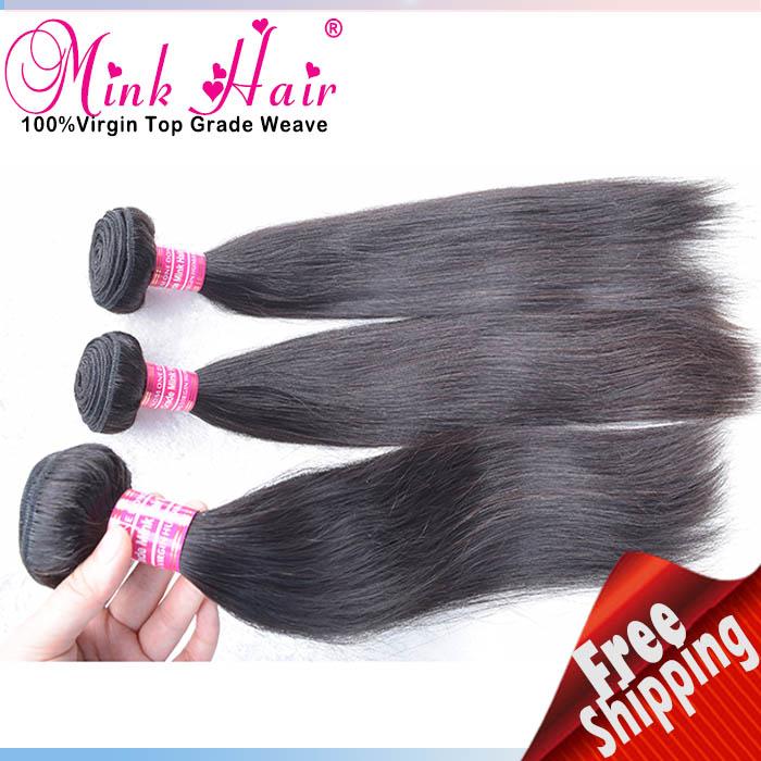 Wholesale 10a Grade Hair Mink Hair Weave 100 Human Hair Silky