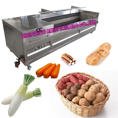 Root Vegetable Washing Peeler Machine