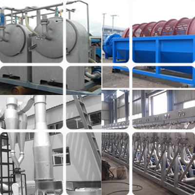commercial 30t per day starch processing machine