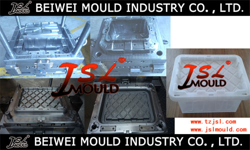 Injection Plastic Storage Box Mould