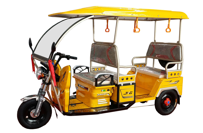 2016 New Model 3 Wheel Electric Rickshaw Battery Driving Tricycle