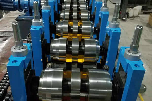 Cold Bending Steel Welded Pipe Mill Line