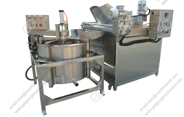 Automatic Fried Food Deoiling Machine