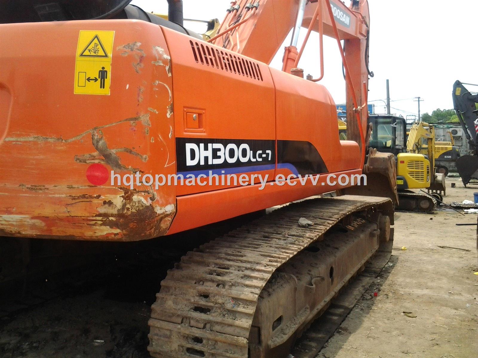 Used Crawler Excavator Doosan DH300LC-7 Second-Hand Track Digger