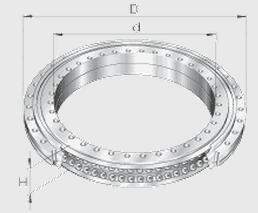 ZKLDF325 Rotary Table Bearings (325x450x60mm)  high speed low friction high accurancy bearing